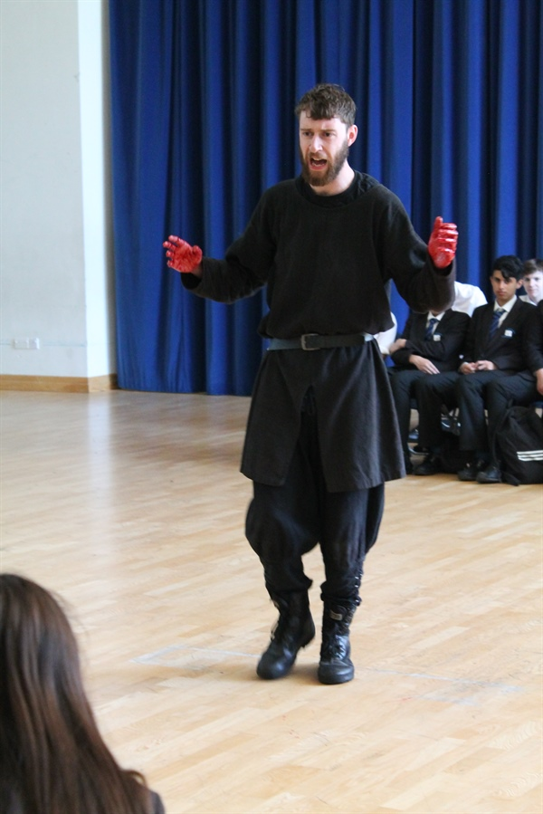 MACBETH COMES TO SHEFFIELD PARK ACADEMY