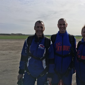 Skydive in support of Weston Park Cancer Charity