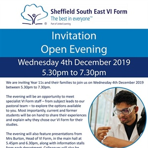 VI Form Open Evening