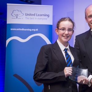 SHEFFIELD PARK ACADEMY'S STORM AND MRS SZAFRANIEC TAKE TOP AWARDS AT NATIONAL CEREMONY