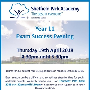 Y11 Exam Success Evening